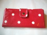 Red Spotty Dotty Purse