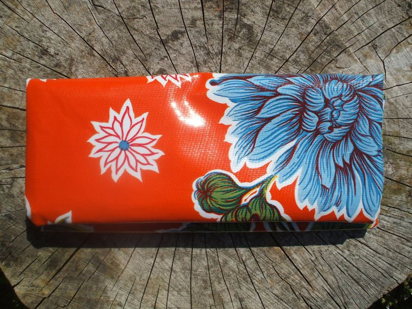 Mexican Oilcloth Passport 'Holdall'
