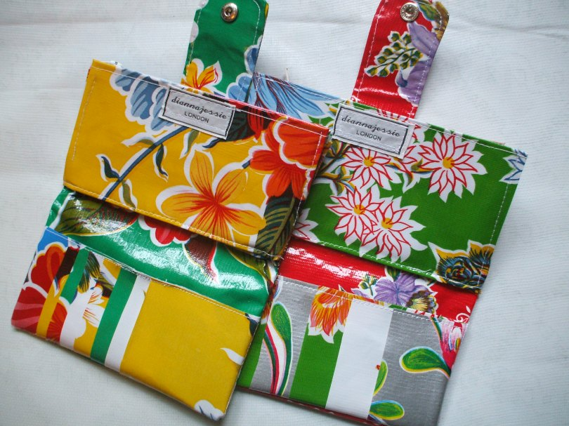Mexican Oilcloth Wallets