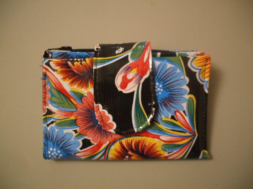 Black Bloom Wallet