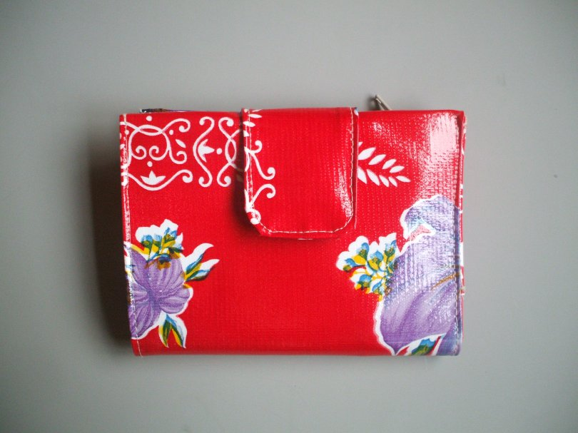 Red Orchid Wallet