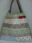 Oilcloth Patchwork Tote
