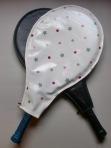 Oilcloth Tennis Racquet Cover