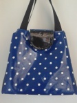 Blue Polka Dot Bag